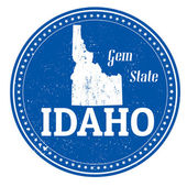 Idaho stamp — Vector de stock