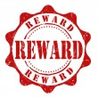 Reward stamp — Vector de stock