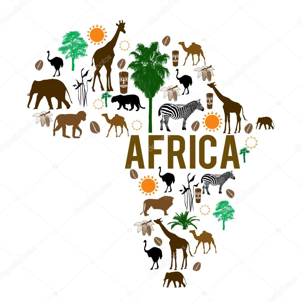 african continent map html with Stock Illustration Africa Landmark Map Silhouette Icons on Where Is South Africa also Gratis 3434 Mapa Politico Africa 1995 additionally Emperor Of Black Nationalist Washitaw further Mauritania further Africa Holiday.
