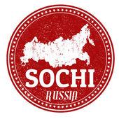 Sochi stamp — Stock Vector