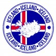 Iceland stamp — Stock Vector #41272355