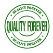 Stock Vector: Quality forever stamp