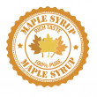 Maple syrup stamp — Vetorial Stock #41414279
