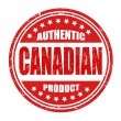 Stock Vector: Authentic canadiproduct stamp