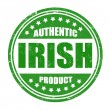 Stock Vector: Authentic irish product stamp