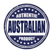 Authentic australian product stamp — Stock Vector