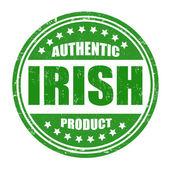 Authentic irish product stamp — Stock Vector