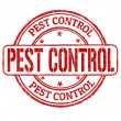 Pest control stamp — Stock Vector #41455085