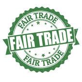 Fair trade stamp — Stock Vector