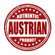 Authentic austriproduct stamp — Stok Vektör #41663769