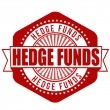 Hedge funds stamp — Vetorial Stock #41906181