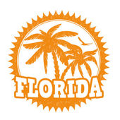 Florida stamp — Stock Vector