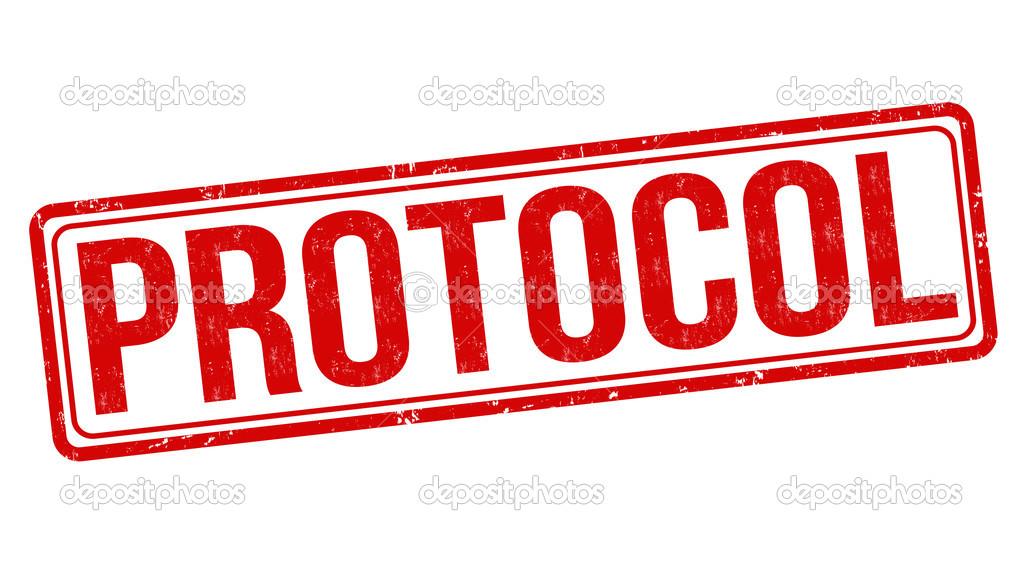 Carimbo de protocolo — Vetor de Stock © roxanabalint #42017303