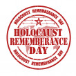 Holocaust rememberance day stamp — Stock Vector #42892607