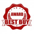 Award best buy stamp — Stock Vector