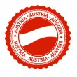 Austria stamp or label — Stock Vector