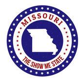 Missouri stamp — Stock Vector