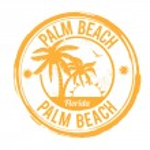 Palm Beach, Florida stamp — Stock Vector #43409439