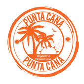 Punta Cana stamp — Stock Vector