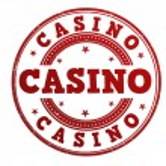 Casino stamp — Stock Vector #43647387