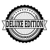 Deluxe edition label — Stock Vector