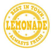 Lemonade stamp — Stock Vector