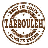 Tabbouleh stamp — Vector de stock