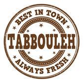Tabbouleh stamp — Stock vektor