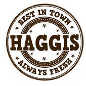 Haggis stamp — Stock Vector