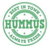 Hummus-stempel — Stockvektor