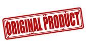 Original product stamp — Stock Vector