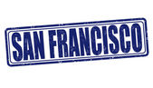 San Francisco stamp — Stock Vector