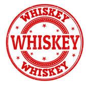 Whiskey stamp — ストックベクタ