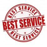 Best service stamp — Stock Vector #45397657