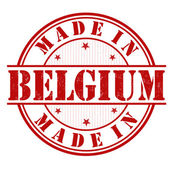 Made in Belgium stamp — Stock Vector