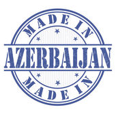 Made in Azerbaijan stamp — Stock Vector