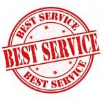 Best service stamp — Stock Vector #45464053