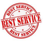Best service stamp — Stock Vector