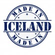 Made in Iceland stamp — Stock Vector #45569847