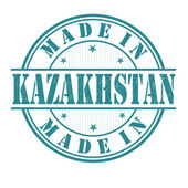Made in Kazakhstan stamp — Stock Vector