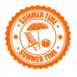 Summer time stamp — Stock Vector #45602869