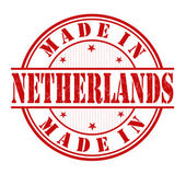 Made in Netherlands stamp — Stock Vector