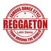 Reggaeton stamp — Stock Vector