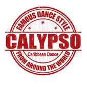 Calypso stamp — Stock vektor