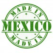 Made in Mexico stamp — Stock Vector #45998807