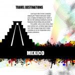 Mexico grunge poster — Stock Vector #46159529
