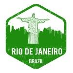 Rio de Janeiro stamp — Stock Vector #46301745
