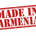 Made in Armenia stamp — Stock Vector #46343757