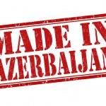 Made in Azerbaijan stamp — Stock Vector #46343779