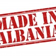 Made in Albania stamp — Stock Vector #46344027
